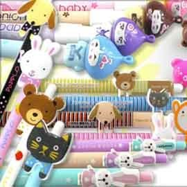 【Win-Shop】☆100支含運價☆團購力量大☆種類眾多可愛造型原子筆,廣告宣傳贈品筆超好寫,開幕活動贈品禮品