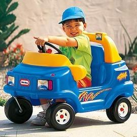 ^(立普 ^)兒童玩具~美國Little Tikes休閒腳行車^(藍^)~強化腳部的肌力發