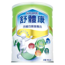 舒體康含纖均衡營養品罐裝 900g X 12入  9折 加贈 含纖 罐裝 900g 2罐