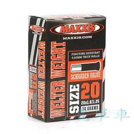 MAXXIS馬吉斯內胎一條,20x1.0 1.25  406 ,美式嘴~H00~906~