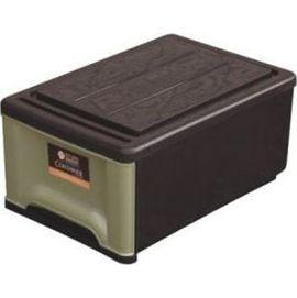 聯府 抽屜整理箱 GT095 GT~095 棕黑色 單層 1層^(塑膠^) ^(置物箱 置