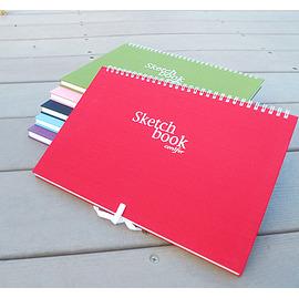 綠的活頁繪圖本 Sketch Book 16K NO.27160