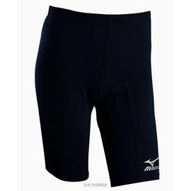 美津濃Mizuno-運動緊身褲(中長型)-黑(58RC-25909或U2TB4G1209)