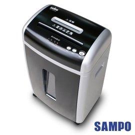 ~贈12片碎紙機潤滑包^( 700^)~SAMPO CB~U8082SL A4細碎高效能碎