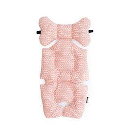韓國【 Borny 】 全身包覆墊(推車、汽座、搖椅適用)(水粉色)