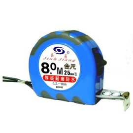 巨匠防水耐磨鋼捲尺8米25mm★台尺/文公/公分/英吋  可供選擇★鐵心、厚板、高挺立度