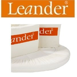丹麥【Leander】嬰兒成長床配件-床包(2件)120cm
