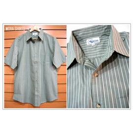 WOVA GOUDEE~66807~18~純棉 手感 舒適透氣 直條紋 口袋 短袖 休閒
