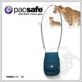 【澳洲 Pacsafe】Metrosafe 50 防盜旅行相機/手機側背包.貼身小物包.皮帶腰包 PB006