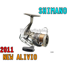 ◎百有釣具◎SHIMANO ALIVIO 紡車捲線器 C3000型~附尼龍的釣線