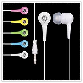 【Q禮品】B0238 鑽石入耳式耳塞耳機/彩色耳機/耳塞式耳機/音響喇叭/入耳式耳機/禮品贈品