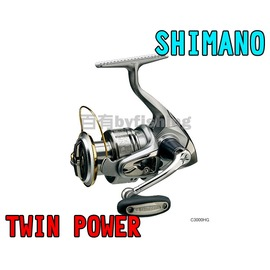 ◎百有釣具◎SHIMANO  TWIN POWER 10培林捲線器 ~ 2500/2500S   日本製下殺特價