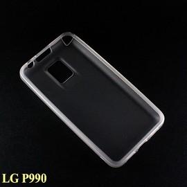 LG P990 手機保護清水套 / 矽膠套 / 防震皮套