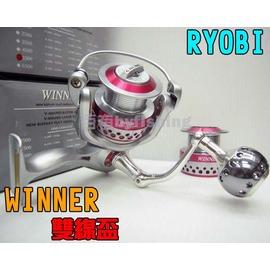 ◎百有釣具◎RYOBI WINNER 雙線杯捲線器6500型~日系商品中最超值選擇