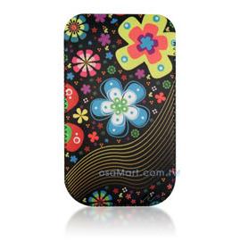 【限量促銷】APPLE/HTC/SAMSUNG/NOKIA/SONY/LG/MOTOROLA/TWM/ZTE/HUAWEI 通用型3.5吋手機-高級彩繪絨布圖案拉取式保護套--嘉年華