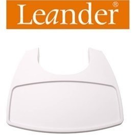 丹麥【Leander】高腳餐椅配件-餐盤(白色)需要搭配二代護欄才能使用
