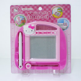 2011春夏新款◇日本進口正版Sanrio~凱蒂貓Hello Kitty~可擦式玩具繪圖板#261439