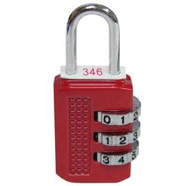 數字對號鎖/行李箱鎖(3碼)★不可以變更號碼★三種顏色★輕巧使用簡單★台灣製造