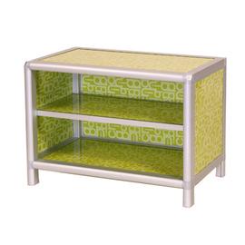 ◆方塊躲貓◆夏艷2.0尺二層鞋櫃