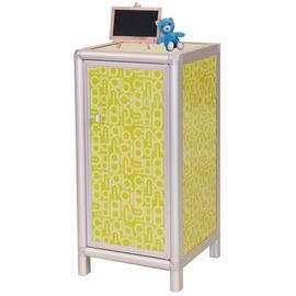◆方塊躲貓◆夏艷1.2尺二層櫃^(有門^)