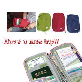 【winshop】旅行用護照夾/卡片夾,一夾在手,機票/護照/零錢/車票井然有序不易弄丟,一般禮贈品最實用
