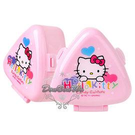 通販部-HELLO KITTY甜心水玉粉色御飯糰模具飯團收納盒318447