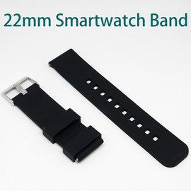【手錶腕帶】22mm Samsung R380/R381/R382 LG W100/W110 運動風格 智慧手錶專用錶帶/經典扣式錶環/替換式
