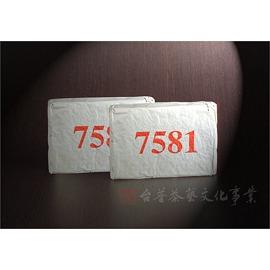 ~雅品苑茶莊~TPC~B01_~94年中茶7581~ ^(熟磚250g^)_古樹茶.大樹茶