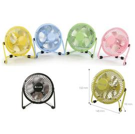【元山】4吋◆桌上型◆涼風扇《YS-6041DF/YS-6041DF》共有5種顏色◆黑、黃、藍、綠、粉紅