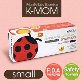 韓國【K-MOM】動物家族抗菌儲存袋-瓢蟲菲菲(S)