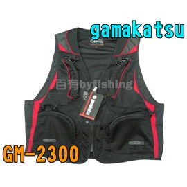 ◎百有釣具◎gamakatsu GM-2300 網狀透氣背心