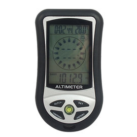 【玖盈-測量儀器】8合1電子高度計 氣壓計 電子指南針 溫度計 天氣預報 登山露營 高度計 時間 多功能電子高度計 八合一 多功能電子高度計