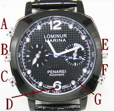 手表时间怎么看图解