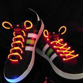 超炫防水LED發光閃動鞋帶~街舞/運動/演唱會/party ◇/酷炫新奇 LED閃光鞋帶/LED燈 球鞋 鞋帶