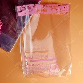 【艾佳】Bread點心三角立袋(粉色)(約50g)/包