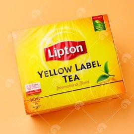 【艾佳】立頓黃牌精選紅茶100入/盒
