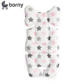 【安琪兒】韓國【 Borny 】 全身包覆墊(推車、汽座、搖椅適用) (蜜糖粉)