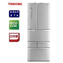 TOSHIBA 日本原裝501L 智慧變頻六門電冰箱 GR-D50FTT(S) **免運費+基本安裝+回收舊機*