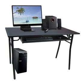 電腦桌^~^~ S65 H腳馬鞍皮電腦桌^~新改版^~ 移動桌 辦公桌 超大鍵盤抽 各式空