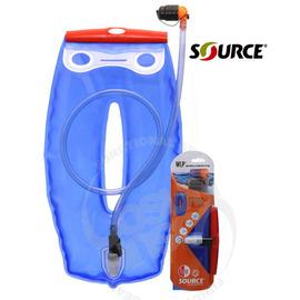 【以色列 SOURCE】抗菌輕薄型附吸管水袋WLP/1.5L  外出旅遊 露營 健行 登山 自行車 跑步用(缺貨中)