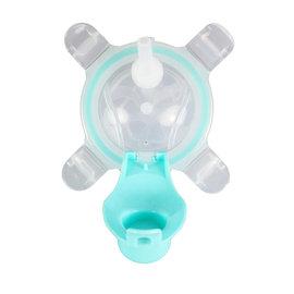 美國【Kangovou】小袋鼠兩用杯替換上蓋+吸管-薄荷綠