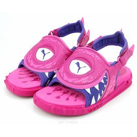590元出清~PUMA~Cuda Sandal 中小童運動涼鞋-桃紫(351234-02)