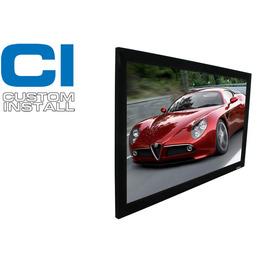 美國 億立 ELITE 106吋 絨布固定框架幕 PVR106GH1 16:9 高增益布幕
