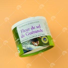 【艾佳】法國葛宏德區天然鹽之花125g/罐