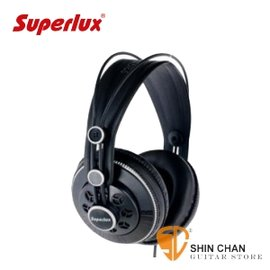 Superlux HD681F 半開放式 監聽耳機 動圈式 ^(白色^) HD~681F