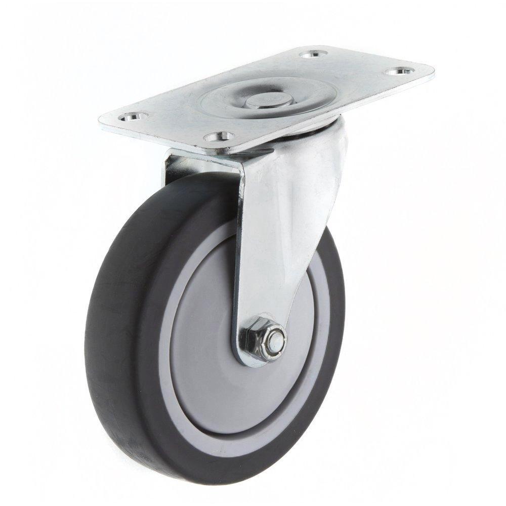 4鋁車輪TPR 平板活動 孔距40~80mm