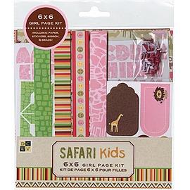 Safari Kids Girl Kit 相簿