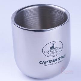 M-9682 鹿牌真空杯280ml (小)不鏽鋼雙層保溫保冷鋼杯