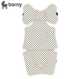 【安琪兒】韓國【 Borny 】 全身包覆墊(推車、汽座、搖椅適用) (白底黑點)