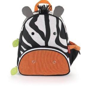 美国skip hop可爱动物背包-斑马